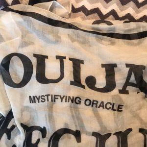 Ouija scarf